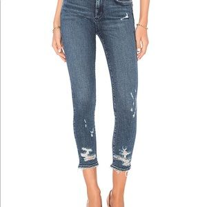 Agolde distressed jeans